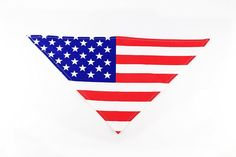 USA Flag 4th of July Dog Bandana by Midlee * You can find more details by visiting the image link. (This is an affiliate link) #DogCare