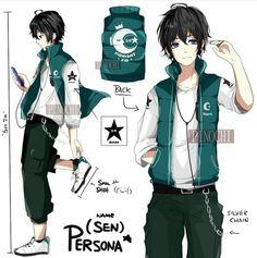 Character design by instagram user, pinochi_kun