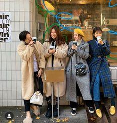 Korea Street Style, Coat, Jackets, Fashion, Down Jackets, Moda, Sewing Coat, Fashion Styles, Peacoats