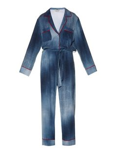 Love this by FENDI Contrast-Piping Cady Jumpsuit - $1683