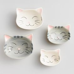 Cat Ceramic Measuring Cups only $13. nice!