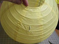 Fast & Easy DIY Pull-String Pinata (from paper lantern) - Tutorial (from original source)