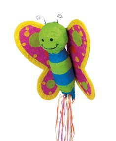 Butterfly Pull-String Pinata, 30226