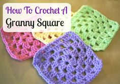 How To Crochet A Granny Square For Beginners Tutorial