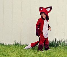 This fox costume is great!  Love the dyed tips!