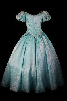 Adult Little Mermaid Aqua Ball Gown Custom by NeverbugCreations, $800.00