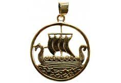 Viking Ship bronze