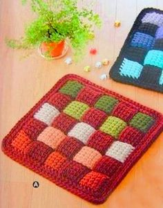Our goal is to keep old friends, ex-classmates, neighbors and colleagues in touch. Beau Crochet, Crochet Diy, Crochet Cross, Freeform Crochet, Crochet Home, Crochet Pillow Patterns Free, Crochet Stitches, Crochet Hot Pads, Confection Au Crochet