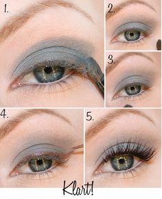 Grey Eyeshadow Tutorial