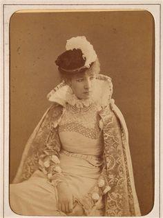 Sarah Bernhardt  by Reutlinger c.1900