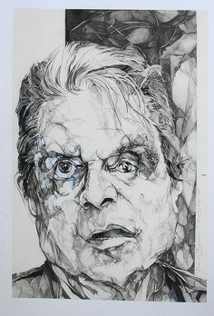 francis bacon by rupert bathurst, via Flickr