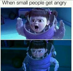 This is my angry face!