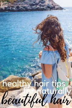 Healthy hair tips incorporated into your routine can make such a difference for your overall beauty. Here's how to implement a natural hair care routine. #hair #haircare #haircaretips #naturalbeauty #diybeauty Natural Hair Care Tips, All Natural Skin Care, Natural Hair Styles, Natural Beauty, Healthy Hair Tips, Healthy Beauty, Healthy Recipes, Greasy Hair Hairstyles, Cool Hairstyles