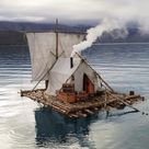 tent raft boat