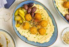 Gyors és egyszerű falafelgolyó Falafel, Potatoes, Baking, Vegetables, Ethnic Recipes, Food, Cilantro, Potato, Bakken