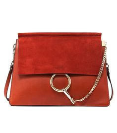 Chloé Faye Medium Shoulder Bag, Red ($1950)