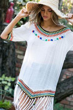 White Shorts, Denim Shorts, Summer Wear, Workwear, Tassels, Legs, Button, Detail, Chic