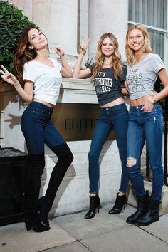 Lily, Behati, Karlie