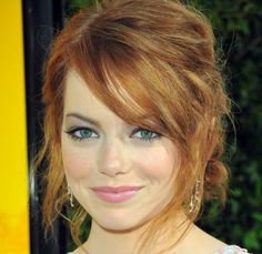 Emma Stone - great hair and make up