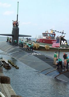 The Los Angeles-class attack submarine USS Norfolk (SSN 714) returns to her homeport at Naval Station Norfolk, Va.