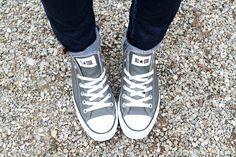 Grey converse- I need a new pair