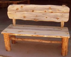 Wedding Guest Book Alternative Rustic Wood Bench with backs Sustainable Furniture Rustic Furniture from Naturally Aspen USD) by naturallyaspen (Outdoor Wood Bench) Rustic Country Furniture, Rustic Wood Bench, Rustic Patio, Barn Wood, Rustic Decor, Wood Benches, Rustic Style, Indoor Benches, Rustic Entryway