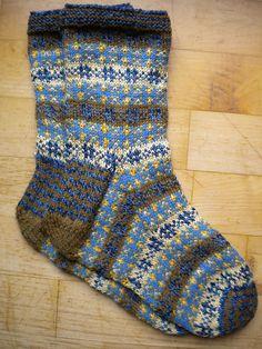 Ravelry: runningsusi's Fair isle socks