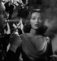 Gene Tierney in Laura (1944, dir. Otto Preminger)