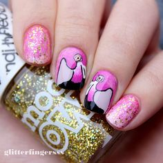 """Handpainted #flamingo #nails using @modelsownofficial Disco Heaven. #modelsown #nailartwow #nailart #nailartaddict #nails2inspire #nailsofinstagram #nailstagram #nailporn"" Photo taken by @glitterfingersss on Instagram, pinned via the InstaPin iOS App! http://www.instapinapp.com (01/12/2015)"