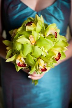 orchid bouquet (photo by Amelia Strauss)