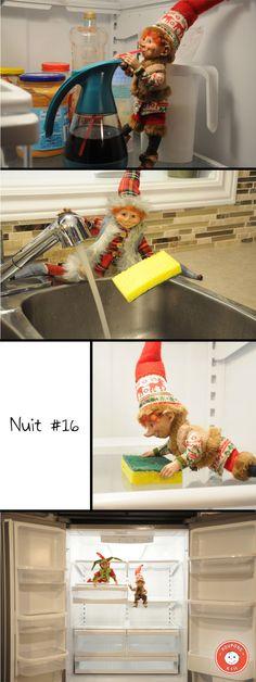 Trouvez dans ce billet 25 de nos meilleures idées de tours que votre lutin pourra jouer à Noël cette année! Boxing Day, The Elf, Elf On The Shelf, Christmas Elf, Xmas, Le Blog De Vava, Tours, Diy, Holiday Decor