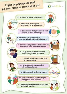 Reguli politețe Educational Activities For Kids, Montessori Activities, Craft Activities For Kids, Worksheets For Kids, Toddler Activities, Gentle Parenting, Kids And Parenting, Parenting Hacks, Kids Poems