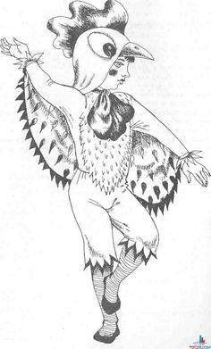 Цыплята, курочки и петушки - Костюм в виде животного попробуем сшить и его необычностью всех удивить - Форум-Град