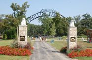 Phillips Park: More than 280 acres of park with picnic facilities, a playground, waterfall, sunken gardens, sand volleyball courts, horseshoe pits, bike trails, ice skating, hiking, fishing, 18-hole golf course, aquatic center and zoo. Free.