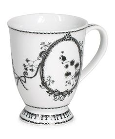 Take a look at this White Chain 8-Oz. Coffee Mug by Miss Blackbirdy on #zulily today! $7 !!