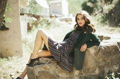 Jessica Faulkner - As Seen in Lucky Mag: Enter to Win the Emma Coat! #everydaymagic