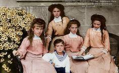 11/24/15 4:55p The Romanov Children Olga, Tatiana, Maria, Anastasia, Alexis…