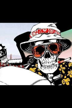 Fear and Loathing skulls