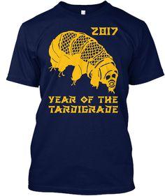 2017 Year Of Tardigrade Navy T-Shirt Front