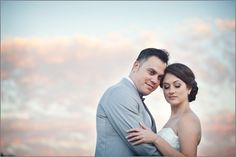 Enjoying our first sunset as husband and wife Carnival Wedding, Portrait Photographers, Real Life, Our Wedding, Husband, Sunset, Couple Photos, Photography, Couple Shots