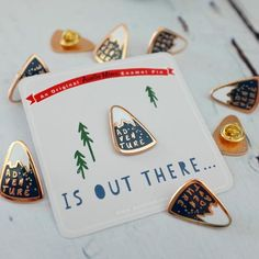 Adventure Enamel Pin                                                                                                                                                                                 More