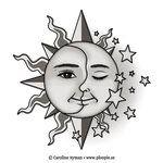 artistic star tattoos - Google Search