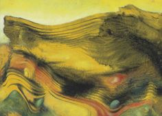 "thunderstruck9: "" Max Ernst (German, 1891-1976), Ohne Titel, 1956. Oil on panel, 24.2 x 33.2 cm. """