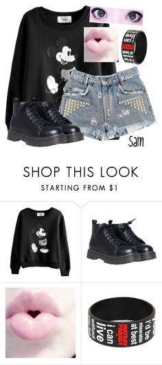 """""""Sam outfit (Wattpad Story)"""" by spn-criminal ❤ liked on Polyvore featuring Hot Topic"""