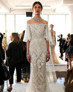 15 Drool-Worthy Dresses from Bridal Fashion Week via @PureWow