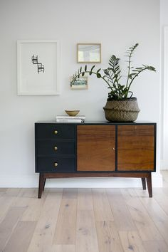 one of a find black retro sideboard sold Black Sideboard, Sideboard Table, Small Sideboard, Mid Century Sideboard, Vintage Sideboard, Sideboard Furniture, Home Furniture, Solid Wood Furniture, Vintage Furniture