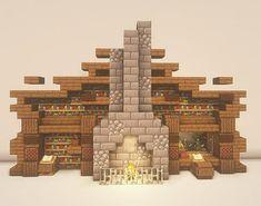 Minecraft Mansion, Easy Minecraft Houses, Minecraft House Tutorials, Minecraft Medieval, Minecraft Structures, Minecraft Room, Minecraft Plans, Minecraft House Designs, Minecraft Decorations