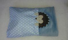 African hedgehog snuggle sack BLUE