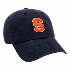Syracuse Crew Adjustable Hat by Top of the World. $12.94. Top Quality, Manufactured by Top Of The World. Officially licensed by the NCAA. Officially licensed by the Syracuse Orange. This hat features the styling of a fitted cap, with the convenience and flexibility of adjustable hats through an expandable rear of the hat that contours to fit your head exactly. Showcases an embroidered 3D team logo on team color cotton twill. Smaller, alternate logo on rear of cap. Team...