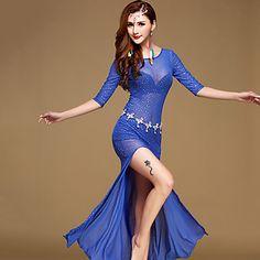 Vestidos(Negro / Azul / Rojo Claro,Poliéster,Danza del Vientre) -Danza del Vientre- paraMujer Lentejuelas Representación 5299246 2016 – €34.29